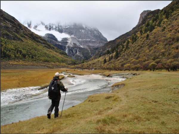 与马帮同行 穿越亚丁雪山